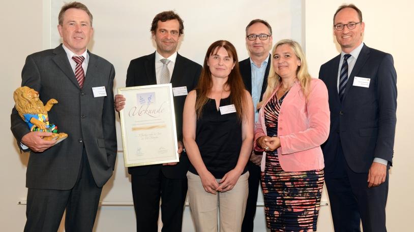 Überreichung des Bayerischen Organspendepreise durch Gesundheitsministerin Melanie Huml