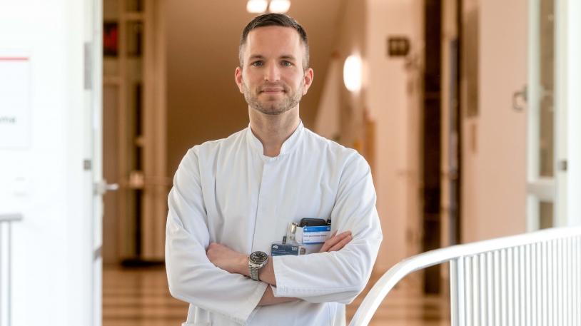 Privat-Dozent Dr. Christoph Spinner, Infektiologe und Pandemiebeauftragter des Universitätsklinikums rechts der Isar