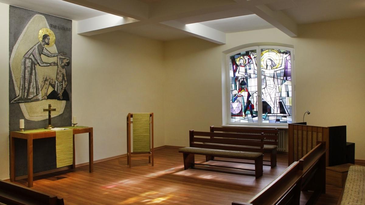 Die Evangelische Kirche im Klinikum rechts der Isar