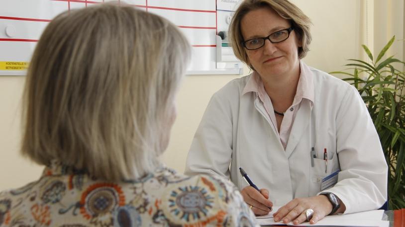 Prof. Johanna Anneser,  Leiterin des Palliativmedizinischen Dienstes (PMD) am Klinikum rechts der Isar