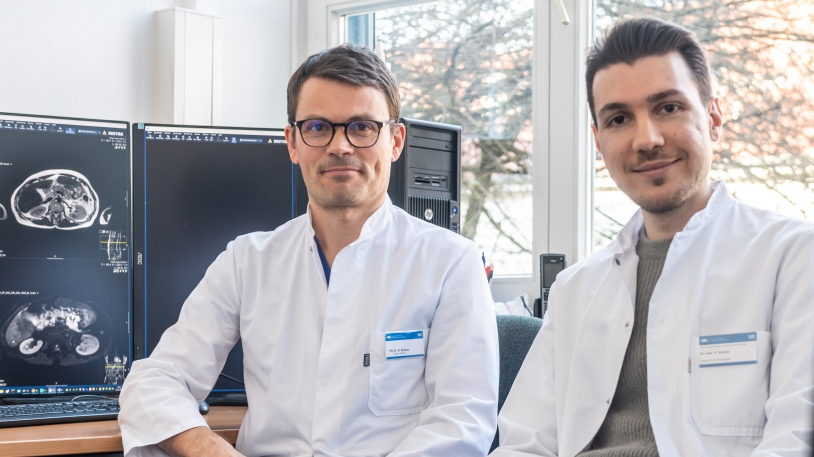 PD Dr. Rickmer Braren und Dr. Georgios Kaissis