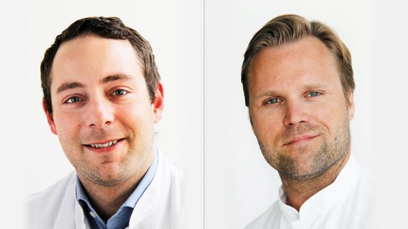 Prof. Chlodwig Kirchhoff und Dr. Michael Zyskowski vom Universitätsklinikum rechts der Isar