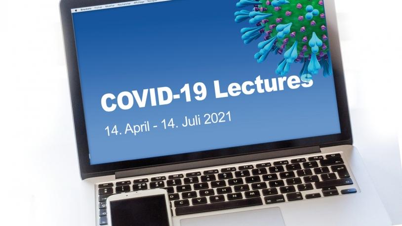 Bild Monitor Covid-19 Lecture