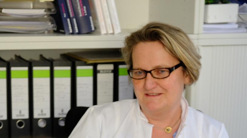 Prof. Johanna Anneser leitet den Palliativmedizinischen Dienst