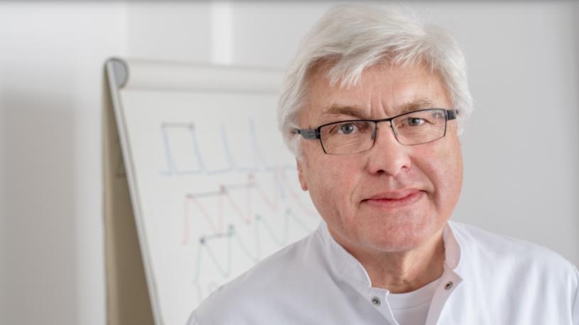 Prof. Georg Schmidt, Oberarzt und Leiter der Arbeitsgruppe Biosignalverarbeitung am Klinikum rechts der Isar