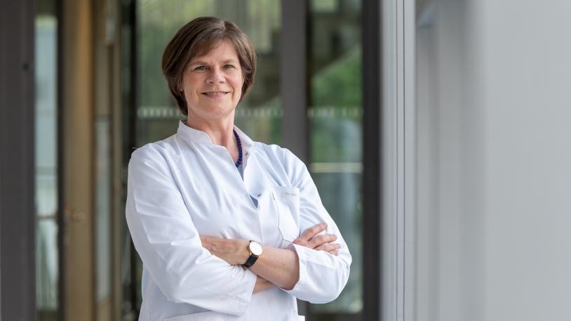 Prof. Ulrike Protzer, Direktorin des Instituts für Virologie der Technischen Universität München