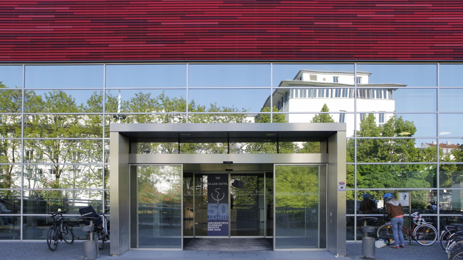Eingang zum Hörsaal