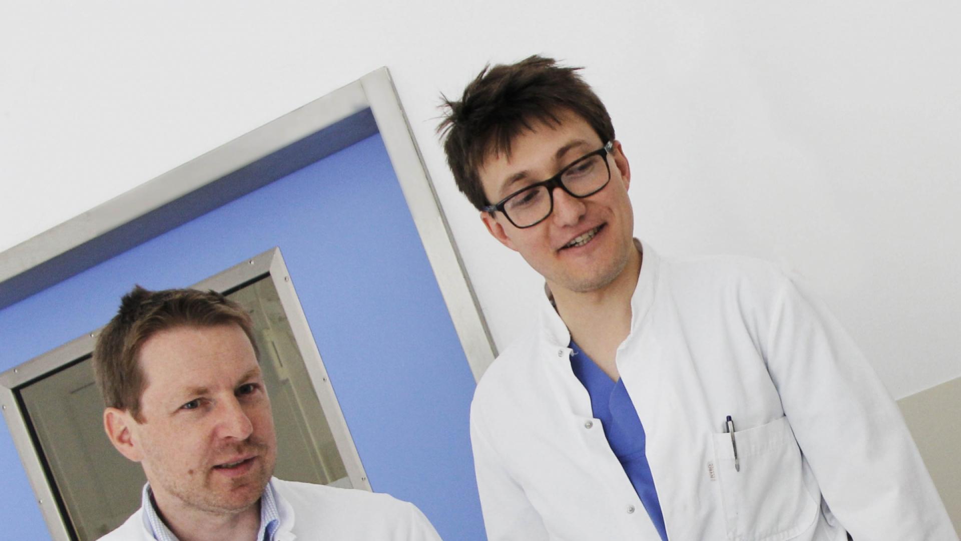 Dr. Schmaderer und Dr. Lorenz Dialysstudie ISAR