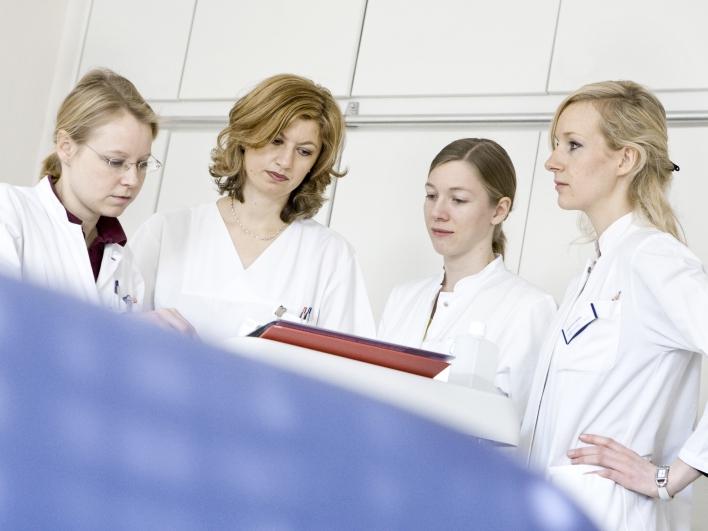 Ärzte bei der Visite