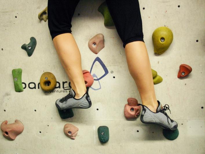 Bouldern als Therapie