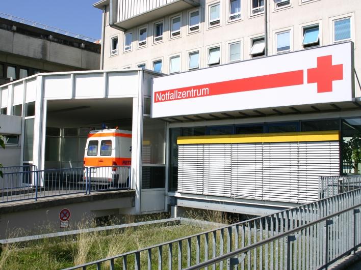 Außenansicht Notfallzentrum