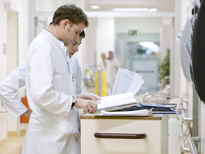 Besprechung einer Patientenakte