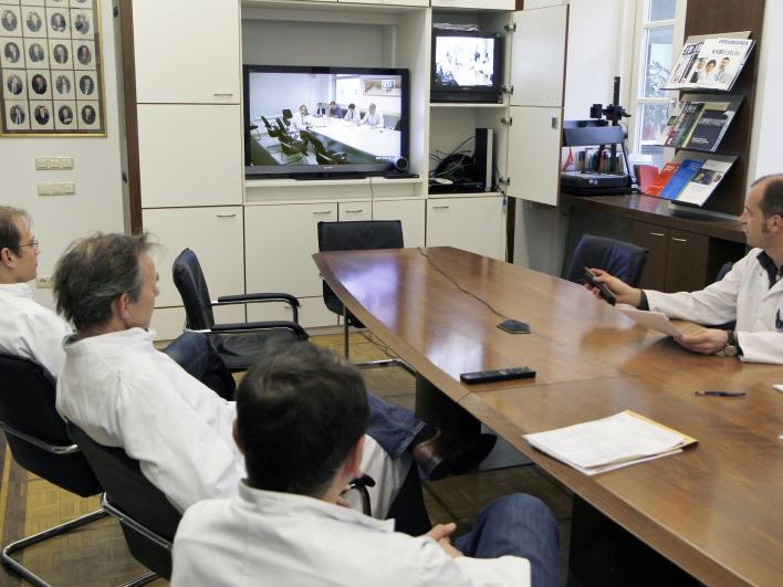 Videokonferenz besprechung