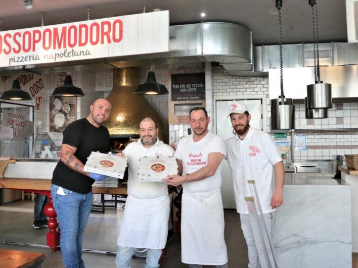 200 kostenlose Gerichte von Rossopromodoro im Eataly München