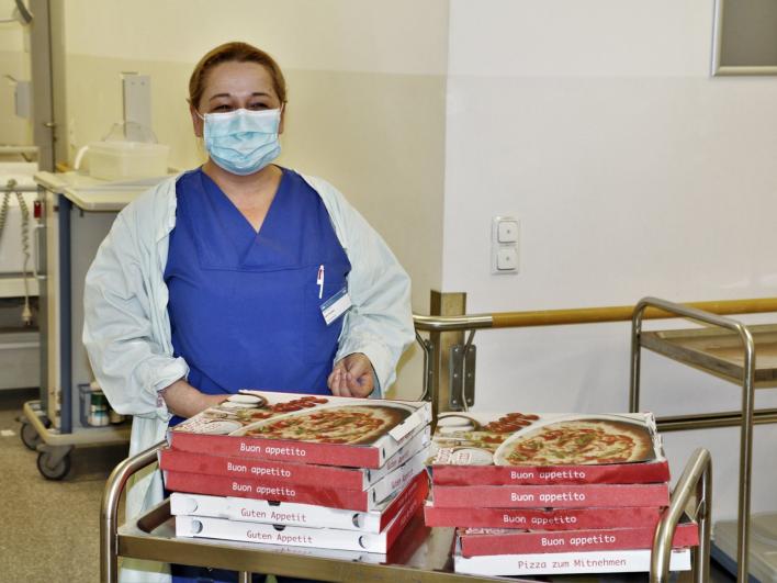 Danke an Solopizza für die Pizzaspende
