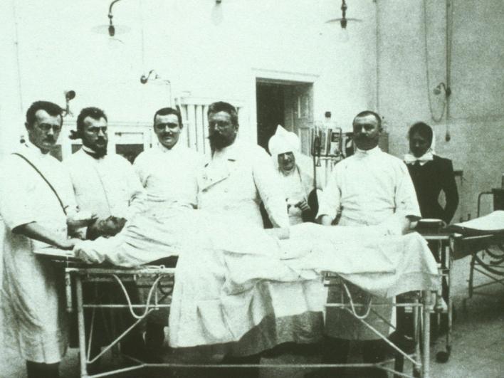 Dekanat historischer OP-Saal