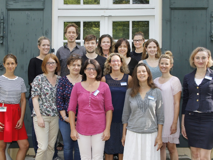 Gruppenfoto Psychosomatik Team