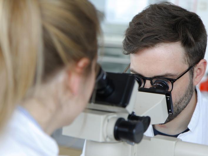 Histologische Untersuchung am Institut für Pathologie
