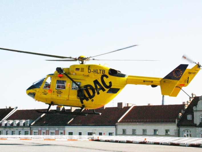 Hubschrauber-Landeplatz Klinikum rechts der Isar