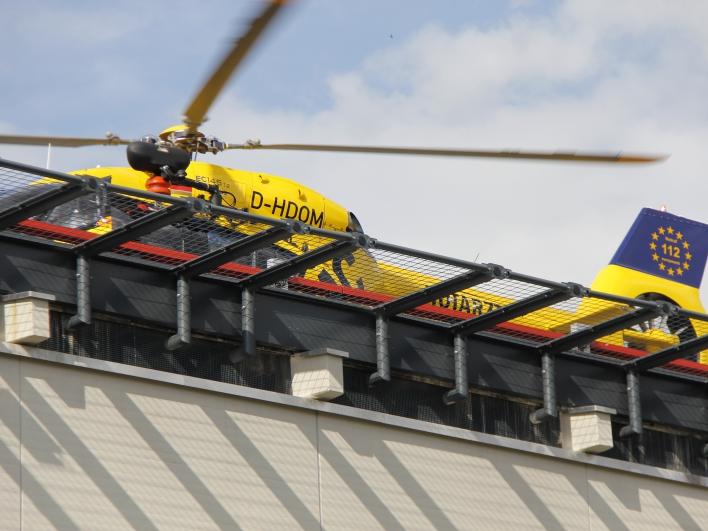 Hubschrauber Notarzt einsatz