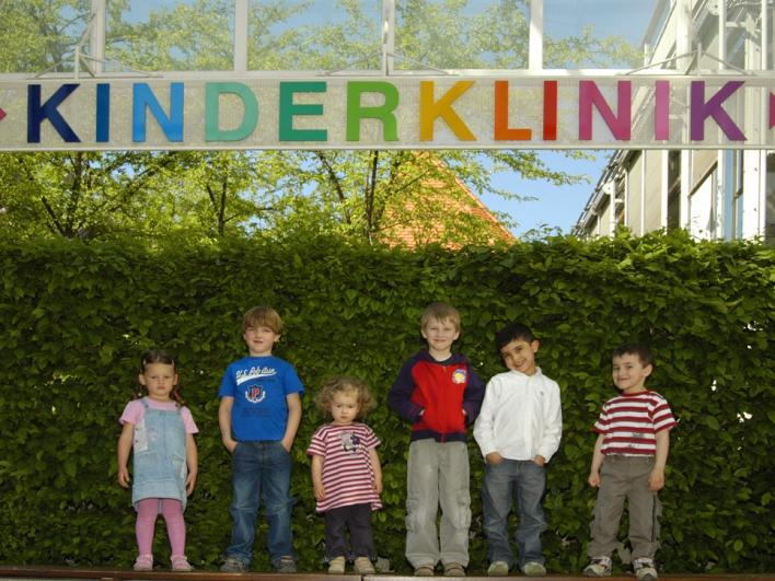 Kinder in der Kinderklinik Schwabing