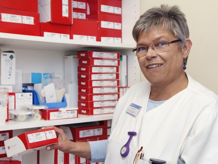 Krankenschwester im Darmzentrum
