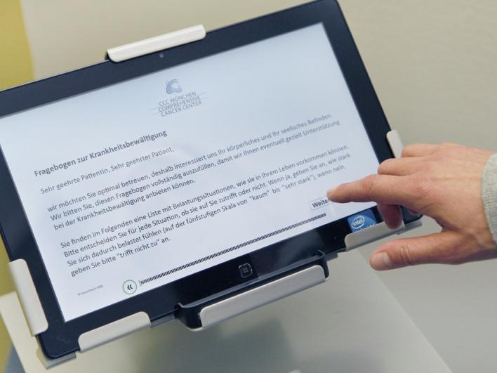 Elektronischer medizinischer Fragebogen