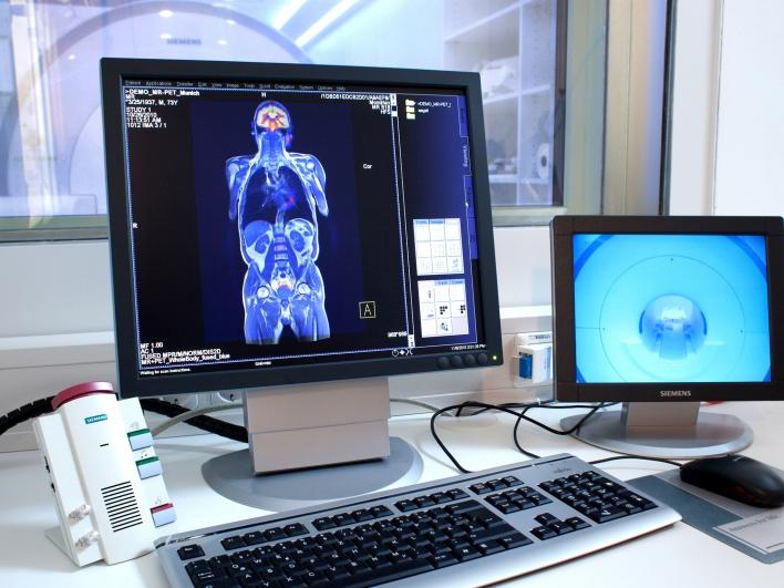 MRT-PET Monitor mit Überwachungsbildschirm