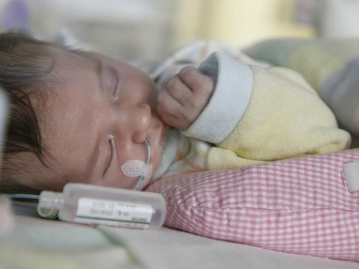 Schlafendes Baby Mutter Kind Zentrum