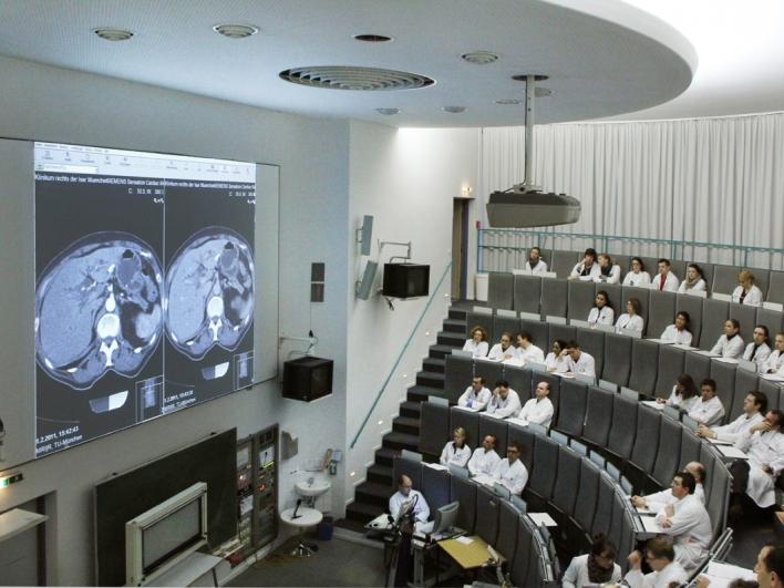 Hörsaal des Klinikums rechts der Isar