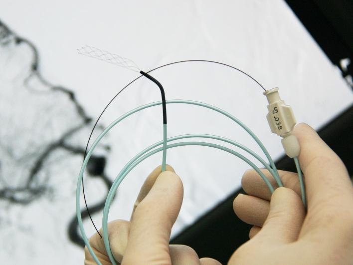 Katheterisierung nach Schlanganfall