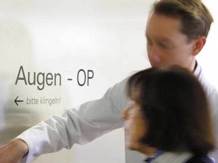 Patientenaufklärung Augenklinik