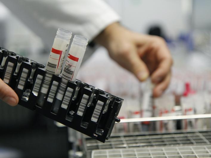 Proben im Labor für Klinische Chemie