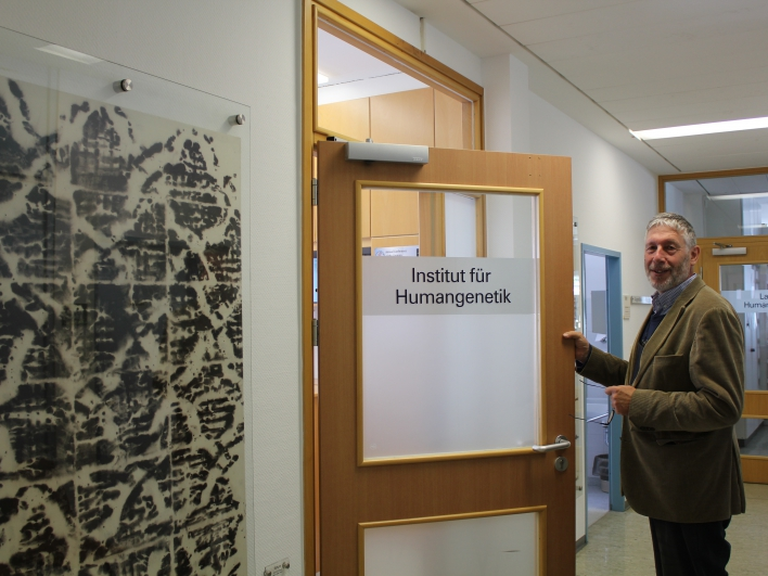 Prof. Meitinger, Leiter der Abteilung für Humangenetik