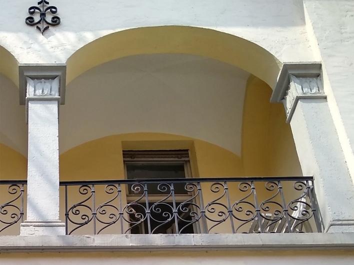 Balkon der Psychatrie