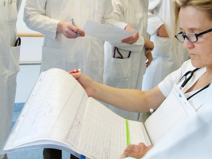 krankenschwester transplantation