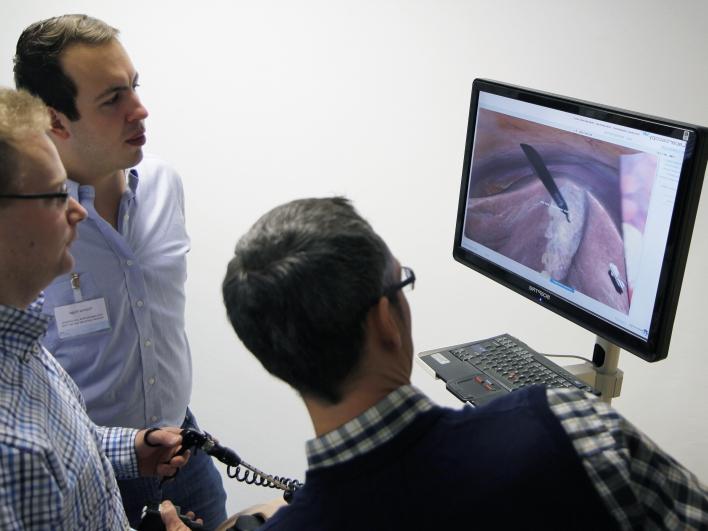 Simulation einer Endoskopie