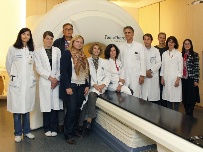 Mitarbeiter- und Ärzteteam des muskuloskelettale Tumorzentrums