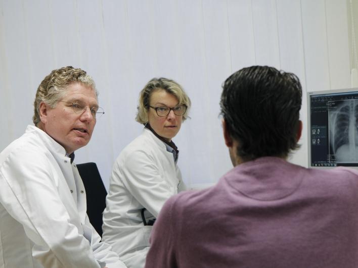 Thoraxchirurgie Patientengespräch
