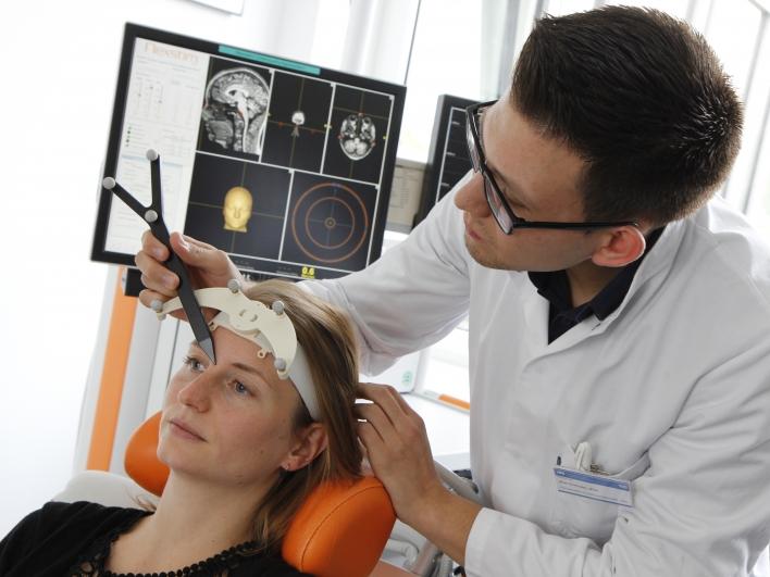 Untersuchung einer Patientin