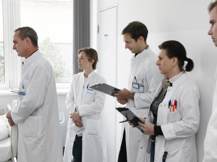 Visite Ärzteteam