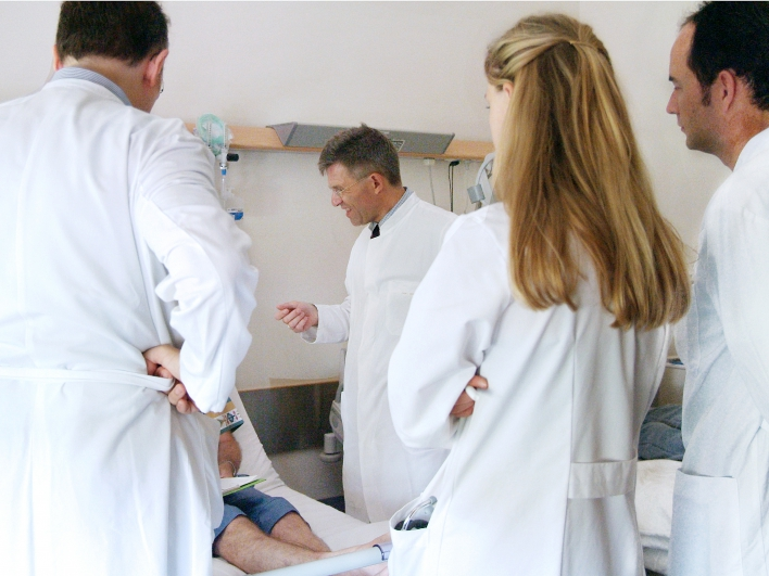 Visite in der inneren Medizin