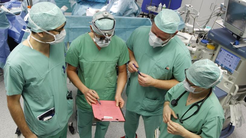 Team-time-out im urologischen OP
