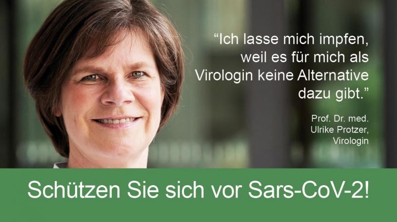 Prof. Ulrike Protzer, Direktorin des Instituts für Virologie