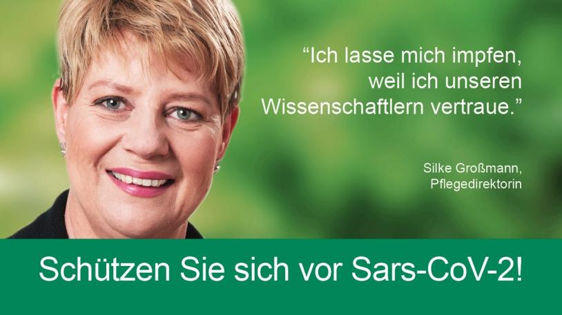 Silke Großmann, Pflegedirektorin am Klinikum rechts der Isar
