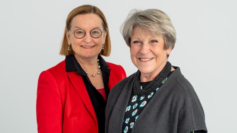 Patientenfürsprecherinnen am Klinikum rechts der Isar: Dr. Ursula Wandl (li) und Dr. Christine Maurer (Foto: argum, MRI)